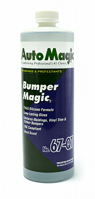 "Для наружного пластика и резины Auto Magic ""BUMPER MAGIC"" № 67 для бамперов и молдингов, фото 1, цена"
